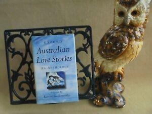 AUSTRALIAN LOVE STORIES AN ANTHOLOGY 1st ED HCDJ