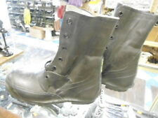 US Military Mickey Mouse Boots BLACK sz 8R (NO VALVE)