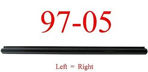97 05 Chevy Venture Left Or Right Rocker Bottom Panel, Montana, Silhouette