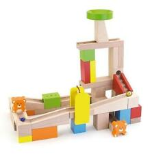 NEW Viga Toys Wooden Marble Run 49pc