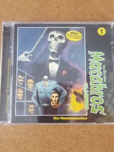 Macabros Classics Doppel-CD Folge 1 DER MONSTERMACHER