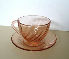 Arcoroc Glass Cups & Saucers