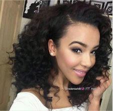 300g Brazilian Deep Wave Human Hair 3 Bundles 12Inch UNice Curly Hair Extensions