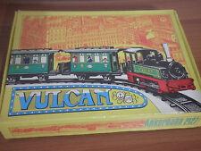 VULCAN Treno con Binari ANKERBAHN 2127 Latta a molla Raro con Box GERMANY