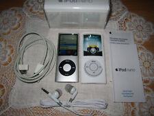 Apple iPod Nano 4. Generation 8GB - Silber (MB598LL/A)