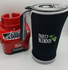 Party Blender Black + Decker 4 Speed Pulse Auto 2000ml 9 Cup w Lip & Sleeve