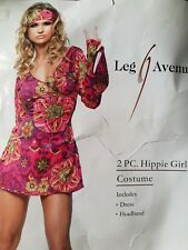 Señoras Hippie Disfraz Leg Avenue Talla S/M