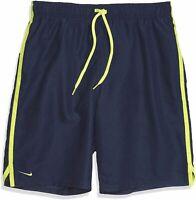 """Nike Men's Diverge 9"""" Volley Short Swim Trunk, Midnight Navy, Size Large ssKO"""