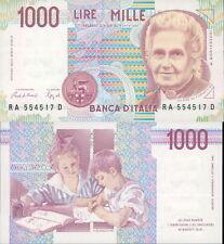 FDS ASSOLUTO- 1.000 LIRE MONTESSORI LETTERA A