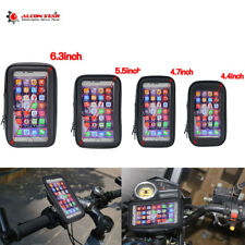 Rotating Motorcycle Bike Mount Holder Bag Case Waterproof For Mobile Phone GPS