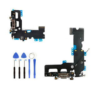 Original Charger Dock Charging Port Headphone Mic Flex Cable For iPhone 7 7 Plus