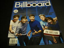 One Direction Top New Artist. 2012 Bb mag cover as Promo Poster Ad