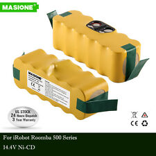 14.4V Ni-CD Battery For iRobot Roomba 500 510 530 570 580 550 620 650 780 Vacuum