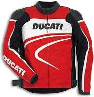 DUCATI Dainese SPORT C2 Lederjacke Jacke LeatherJacket rot NEU %%%