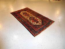 Antique Persian Kurdish carpet wonderful rug estate great condition happy colors