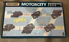 Matchbox Motorcity Ergänzungs-Pack C Schienen Set - Track Pack / Kreuzungen Ovp