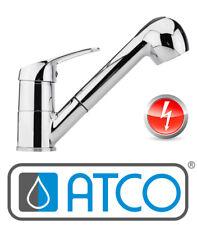 ATCO Niederdruck Einhandmischer Spültischarmatur Einhebelmischer Ausziehbar