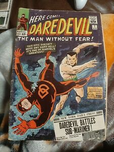 Daredevil #7 First Red Costume Sub-Mariner