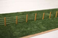 Laser Cut 4ft Post & Wire Lineside Fencing Kit OO Gauge Model Railway Lx056-oo