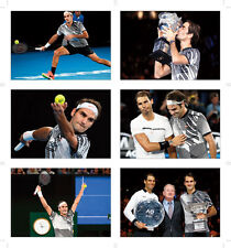 Roger Federer Australian Open Winner POSTCARD Set