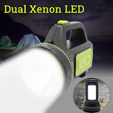 Taschenlampe Handscheinwerfer Akku-Handlampe 2 in 1 LED 500m Standlampe DE