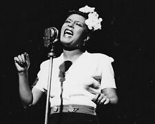"Billie Holiday 10"" x 8"" Photograph no 4"
