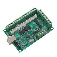 5 Axis MACH3 CNC Breakout Board 1000KHz USB CNC Motion Control Card for Engraver