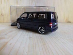 VW T5 Multivan, 1/43, blaumet., Classic Tuning,  (Volkswagen, Caravelle)