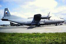 2/105-2  Antonov An-12-BP Reg 2105 Czech Air Force Kodachrome Slide