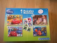 Lot de 4 puzzles Disney