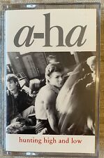 A-HA - HUNTING HIGH AND LOW (USA CASSETTE TAPE ALBUM)