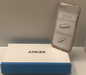 Anker Ice Case Lite Clear Protective Case For iPhone 7 Rose Gold T2