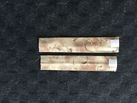 Set of 2 Fleetwood Decorative Curtain Tie Back Straps - Earth Tones