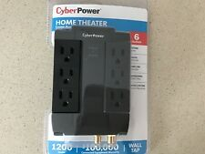 CyberPower Home Surge Protector Suppressor for TV,Cable Outlet and Phone.