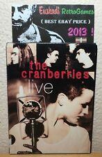 The Cranberries LIVE // DVD - PAL UK // Edición en caja de cartón fina