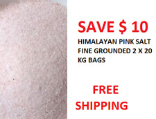 HIMALAYAN  SALT FINE GROUNDED 2 X 20 KG BULK  BAG BULK SUPPLY