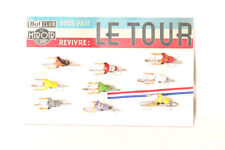 VELO RARE PRESENTOIR PUBLICITAIR TOUR DE FRANCE MARQUE MIROIR EN PARFAIT ETAT