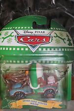 "DISNEY PIXAR CARS ""WHEE-HOO WINTER MATER - CHRISTMAS CARS"" NEW IN PACKAGE"