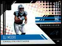 2018 PANINI UNPARALLELED PANTHERS DJ MOORE RC MARYLAND TERRAPINS #257