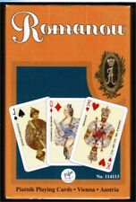 Romanov Playing Cards by Piatnik 55 Cards New Sealed