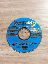 Sega Saturn SEGA Flash Vol 6 Demo Disc, Panzer Dragoon Saga, Sega Touring Car +