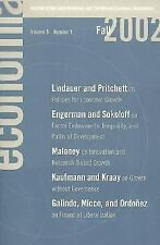 Economia: Fall 2002: Journal of the Latin American and Caribbean Economic
