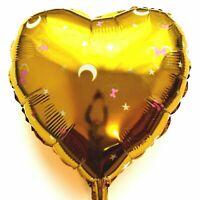 Helium Foil Balloon Disney Mickey Minnie Mouse Gold Moon XL Heart Baby Shower