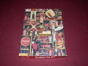 VINTAGE Coca Cola COKE IS IT Jigsaw Puzzle 500 pieces 1986 Hallmark COMPLETE