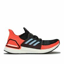 Women's adidas Ultraboost 19 Cushioned Running Trainer Shoes in Black