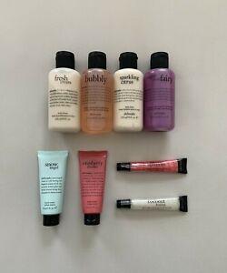 Philosophy Holiday Giftset Lotion Shower Gel Lip Gloss Sugar Plum Fairy Coconut