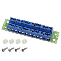 PCB004 1 Set Power Distribution Board 2 Inputs 22 Outputs for DC and AC Voltage