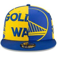 Golden State Warriors New Era Logo Wrap 2 9FIFTY Adjustable Snapback Hat