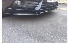 FIESTA ST MK7.5 ST180 FRONT SPLITTER (GLOSS BLACK) ABS PLASTIC