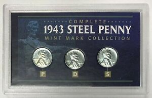 1943 PDS Steel Cent Collection - B7